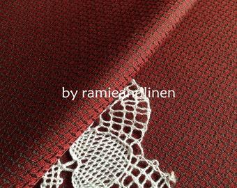 "silk fabric, yarn-dyed woven pure silk fabric,  44"" by 45"" width, last piece"