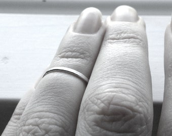 Over the Knuckle Ring, Sterling Silver Knuckle Ring, Midi Ring, Sterling Silver Ring, Stacking Ring, Sterling Silver Jewelry, Stacking Rings