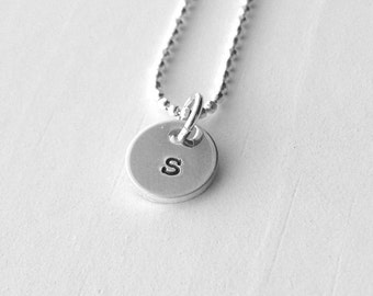 initial necklace letter s pendant personalized necklace letter s necklace initial pendant sterling silver jewelry all letters avails