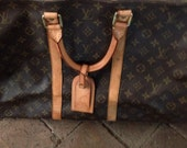 Vintage Louis Vuitton keepall 55 luggage overnight duffel bag // estate gem ReServed