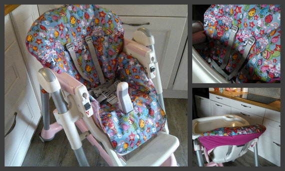 Pdf pattern diy high chair cover patron et tuto pdf housse for Housse chaise haute prima pappa