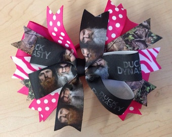 duck dynasty hairbows