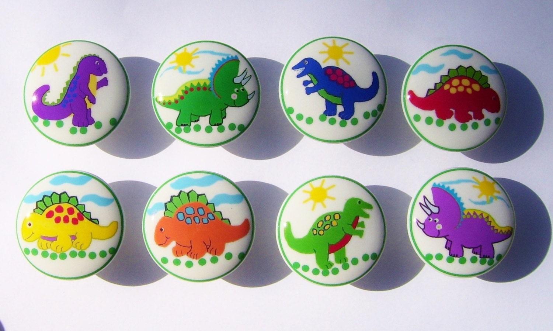8 Set Colorful Dinosaur Kids Boys Baby Mtm Bedding Dresser