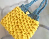 Yellow Handbag - Mermaid Tears Purse
