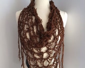 Taryn crochet scarf