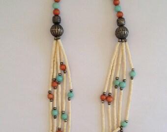 Colorful BOHO VINTAGE Necklace