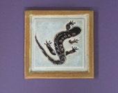 Salamander Arts and Crafts handmade 4x4 ceramic tile