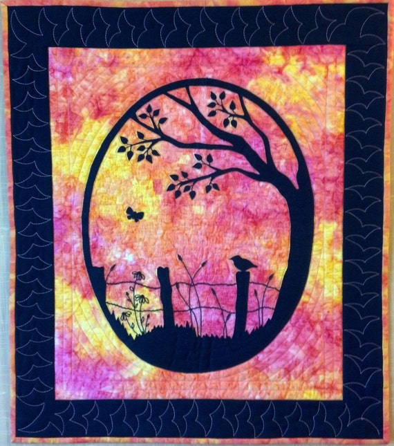 KIT: Solitude Wall Hanging Quilt Pattern and KIT