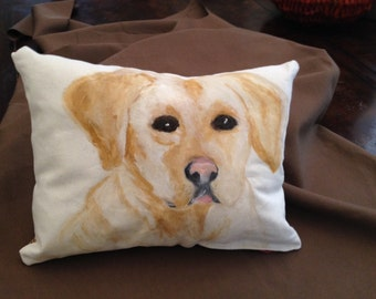 The mgnificent Yellow Labrador is an addition to any room.