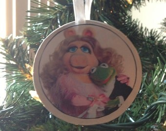 Muppets Piggy & Kermit Ornament