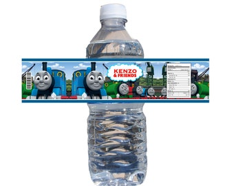 Thomas the Train Water Bottle Labels 24ct