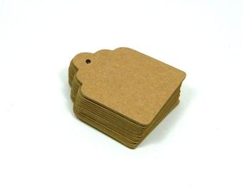 125 Kraft Gift Tag - Kraft Tags - Small Blank Tags - Set of 125