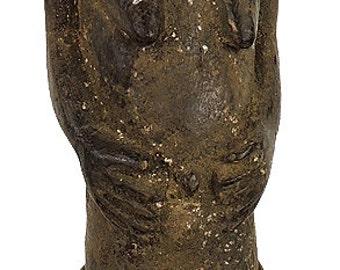Baule Standing Male Figure Cote d'Ivoire  African Art 75433