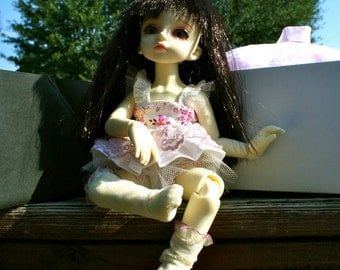 Ani bjd doll full set Ball jointed doll, wig, ballerina outfit, brand new, paperwork included
