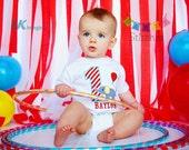 Circus Birthday Shirt - Carnival Birthday Shirt PERSONALIZED