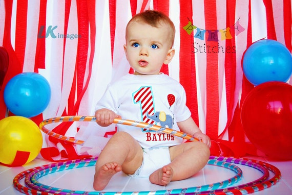 Circus Birthday Shirt - Carnival Birthday Shirt PERSONALIZED