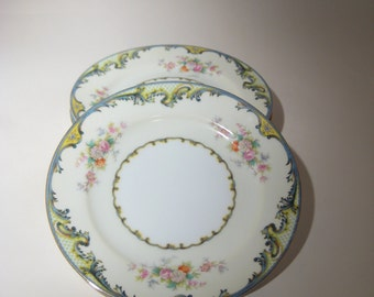 4 Meito Chine Plates - Made in Japan