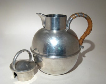 Frederik Lunning Inc. Pewter Pot