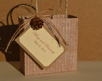 Elegant wedding party favor bags, or for any occasion