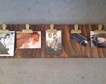 Wood Picture Clipboard