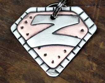 Large and XL Dog Tag -Custom dog ID tag- Super Pooch dog tag