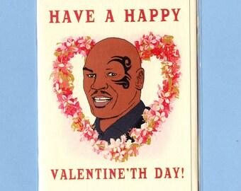 MIKE TYSON VALENTINE - Funny Valentine Card - Funny Valentine - Valentine Day Card - Funny Card - Pop Culture Card - Mike Tyson - Item# V022