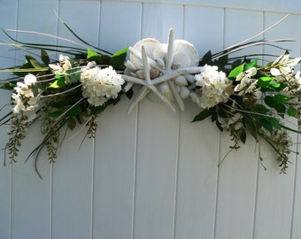 BEACH WEDDING Decoration/Beach Wedding Arch/Beach Wedding Trellis/Starfish Beach Wedding Decoration/Annie Gray/Tropical Beach Decoration