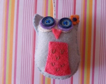 Mystic Owl Ornament by Pepperland