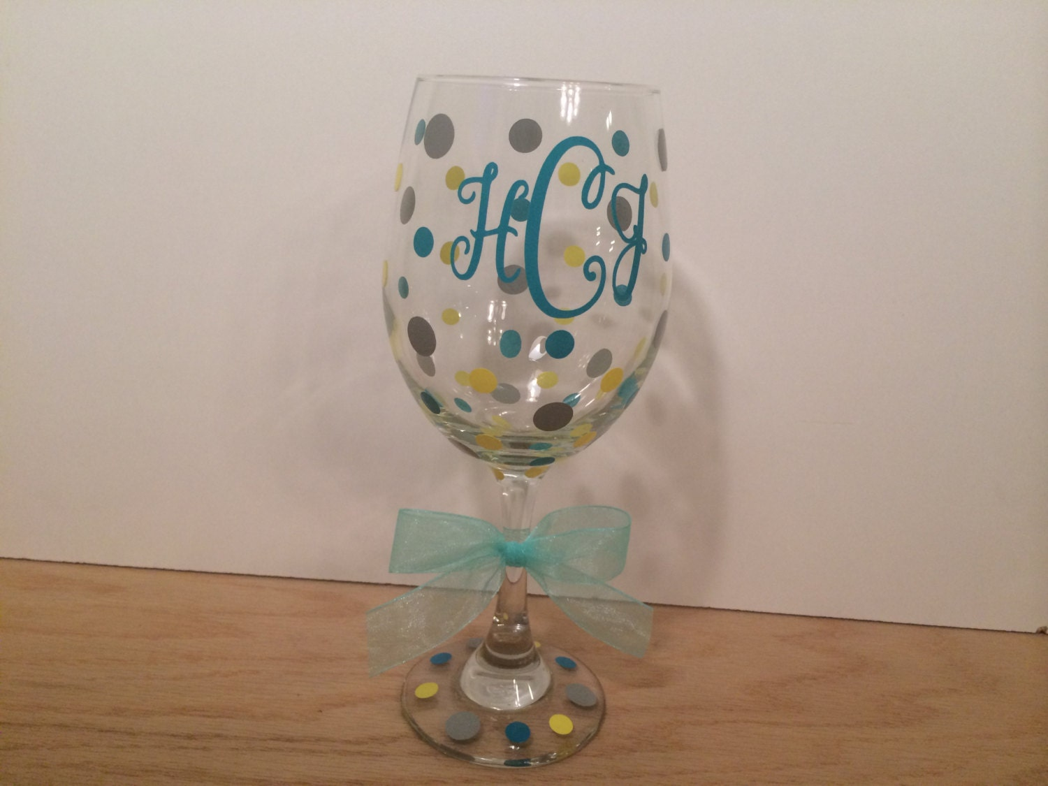 Personalized Wine Glass Extra Large 20 Oz Name Or Monogram