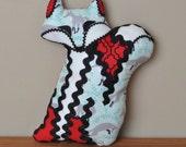 "Fox Softie ""Foxtile"" decorative pillow in Fall Into Winter"