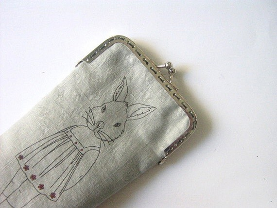 PDF Sewing Patterns. iPhone Case. Eyeglass Case (Metal Frame).