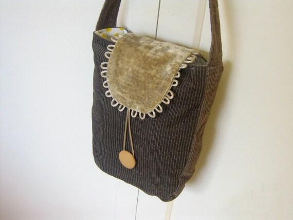 Shoulder Bag tutorial. Easy Patterns. Bag Sewing Patterns