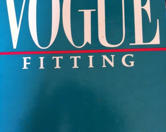 Vintage 80s VOGUE Fitting Book How to Adjust and Alter Fitting Techniques, Adjustments, Alterations Vintage Vogue 1984 How to Fit Custom Fit