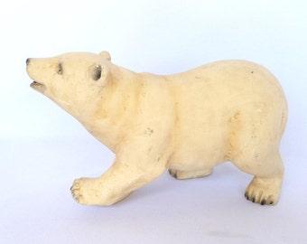 Vintage POLAR BEAR Large Sculpture/ FIGURINE