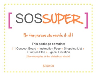 SOS SUPER e-design package