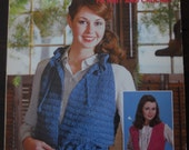 1970s Vest Patterns - Vintage Pattern Book - Crochet And Knitting Booklet