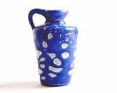Mid Century  Lava Vase - German Studio Pottery R.Unterstab 70s
