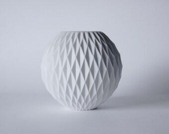 Modernist German Panton Era Space Age Op Art Honeycomb Vase - Thomas 60s