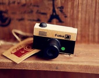 Fotka mini camera rubber stamp