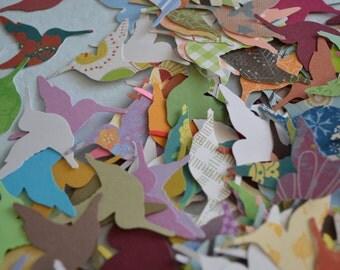 200 Hummingbird die cuts - variety