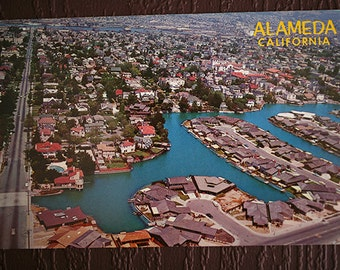 Beautiful Alameda California Postcard - Vintage Postcard - Vintage Roadtrip Travel 1970s 70s
