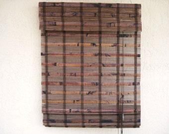 Wood Wooden Window Door Shades Blinds.