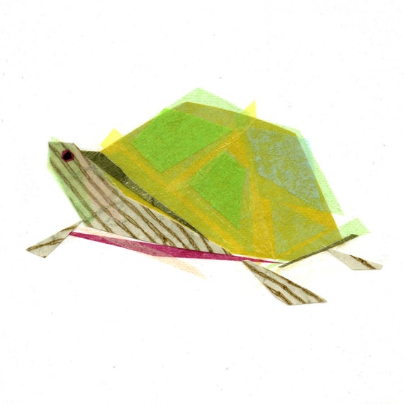 Tito Tortoise - Animal Art Print