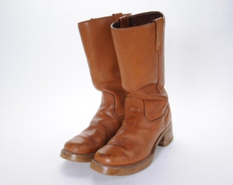 1970's Men's Boots Size 9 .5