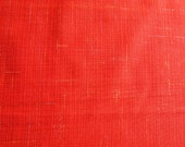 Authentic Japanese kimono, wool blend, Scarlet Red 152/61