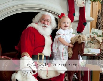 RESERVED LISTING:  Girls Heirloom Christmas and Holiday Dress