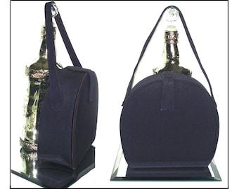Vintage 1950s purse handbag navy blue designer mad men rockabilly swing bombshell pinup garden party dress designer mid century