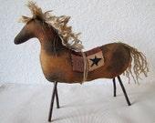 Primitive Horse, Primitive Pony, Spotted Horses, Country Primitives, Primitive Home Decor