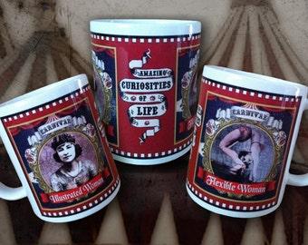 Circus FREAK SHOW  Mug