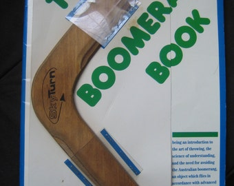 The Boomerang Book With Skyturn Boomerang By John Cassidy